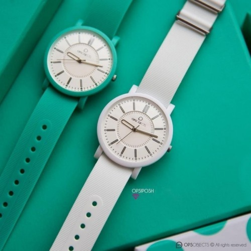 Pasek do zegarka Ops! zielony