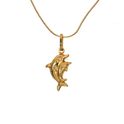 Zawieszka delfinki złote próba 585