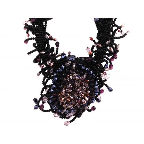 Naszyjnik z kryształami Lewanowicz