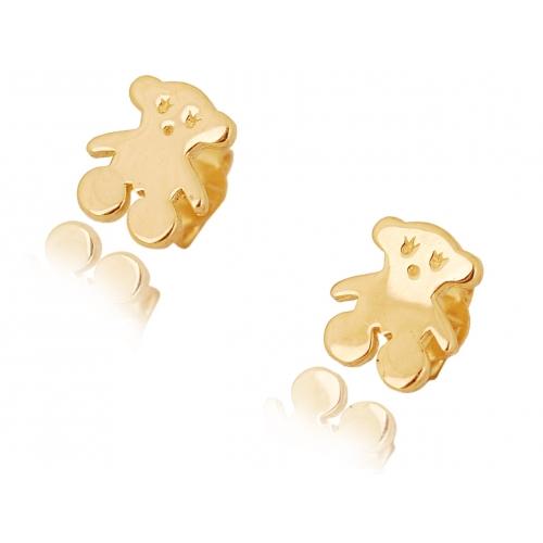 Kolczyki złote MIŚ
