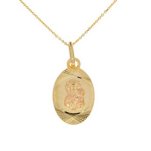 Medalik z łańcuszkiem I Komunia Chrzest 585