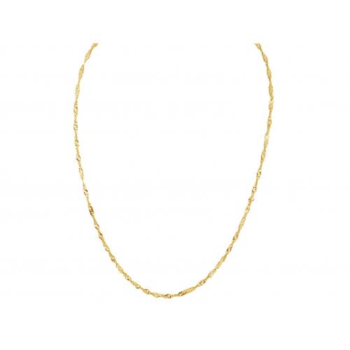 Łańcuszek złoty SINGAPUR