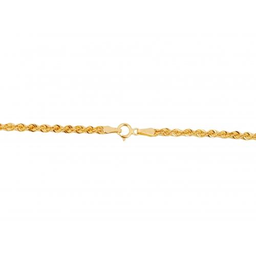 Łańcuszek złoty KORDA