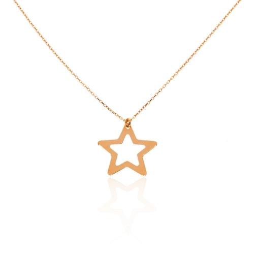 Celebrytka złoto próby 585 Gwiazda