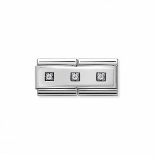Link NOMINATION Double trzy kwadraty cyrkonie