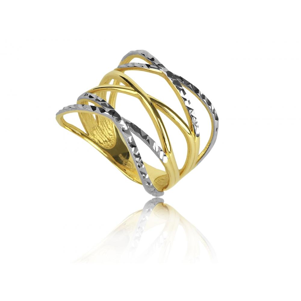 8be0a9767eb07c Pierścionek złoty szeroki OBRĄCZKI · Pierścionek złoty szeroki OBRĄCZKI ...