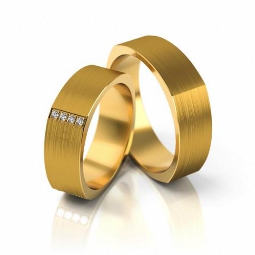 Obrączki złote 585