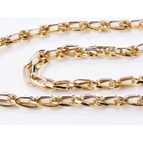 Łańcuszek złoty gruby