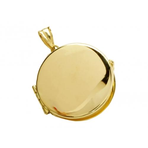 Wisior złoty otwierany na zdjęcie