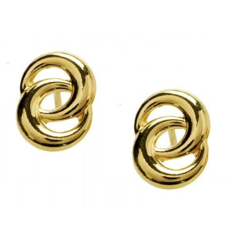 Kolczyki złote małe kółka