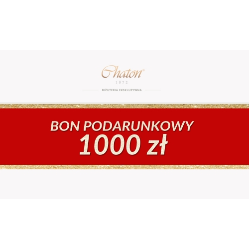 Bon podarunkowy Chaton 1000 zł