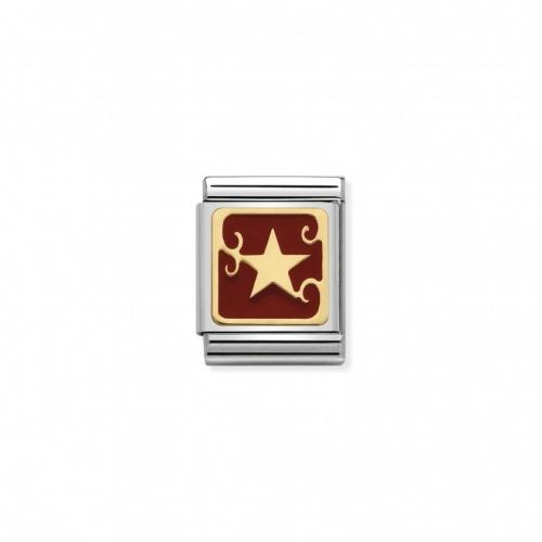 Link NOMINATION BIG złoto
