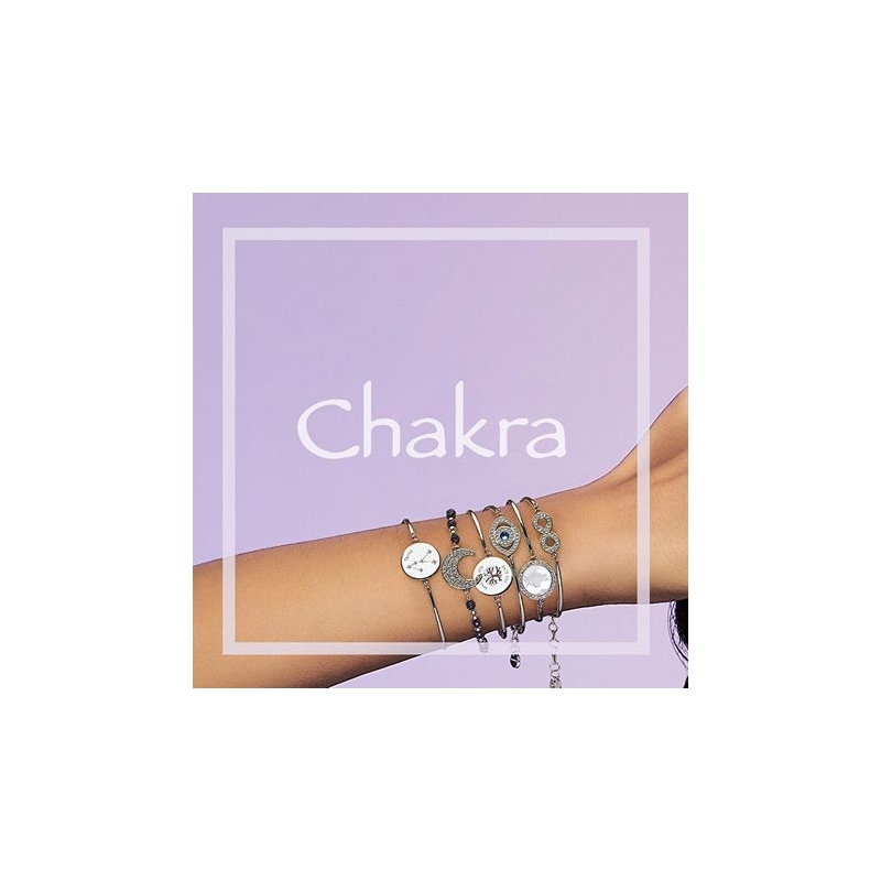 Bransoletka CHAKRA alfabet