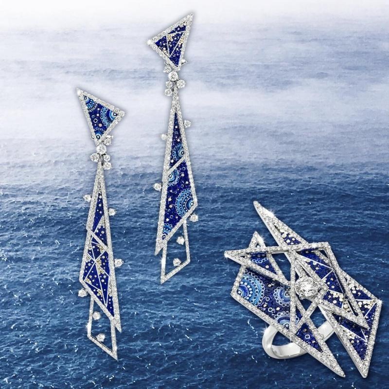 Kolczyki SICIS Gala trójkąty