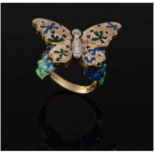 Pierścionek SICIS Butterfly motyl