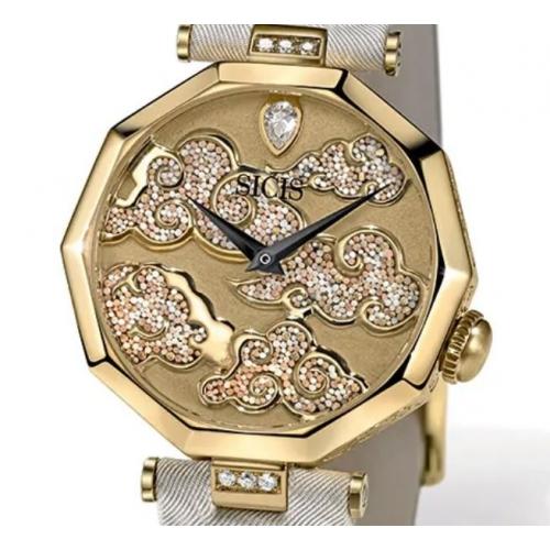 Zegarek złoty SICIS