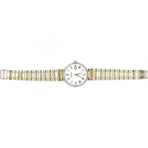 Zegarek złoty GENEVE z datownikiem