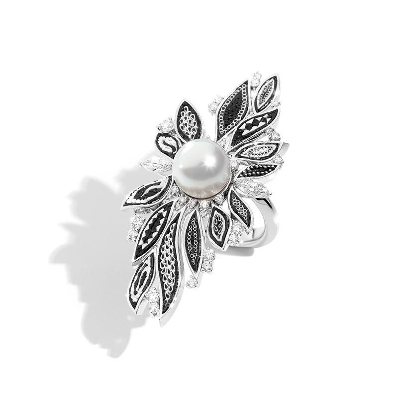 Pierścionek SICIS perła