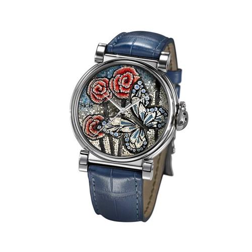 Zegarek złoty SICIS motyle