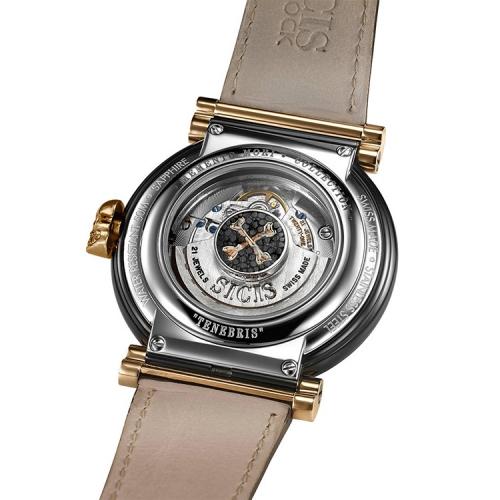 Zegarek złoty SICIS czaszka