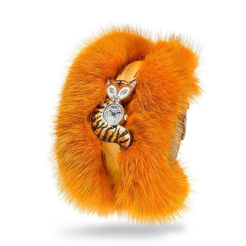 Zegarek SICIS lis pomarańczowy