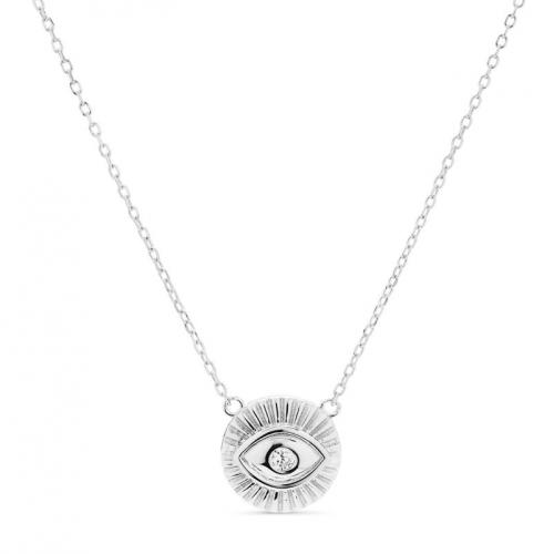 Naszyjnik srebrny oko opatrzności