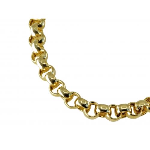 Bransoletka złota rolo