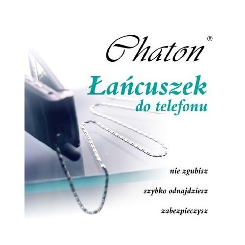 Srebrny łańcuszek do telefonu - srebrna smycz do telefonu