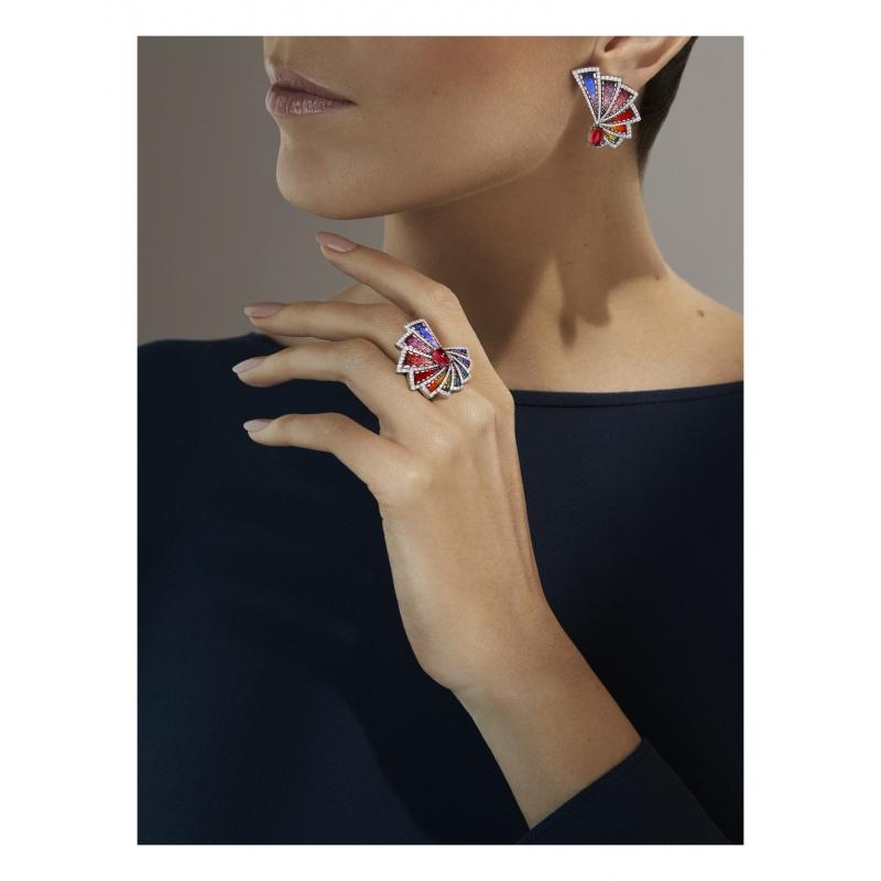 Złoty pierścionek SICIS Aura