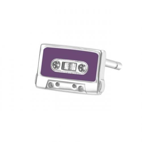 Kolczyk kaseta magnetofonowa Rosato