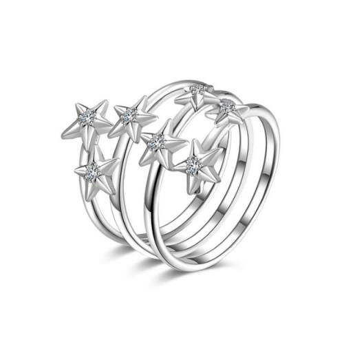 Pierścionek Rosato Gwiazdy
