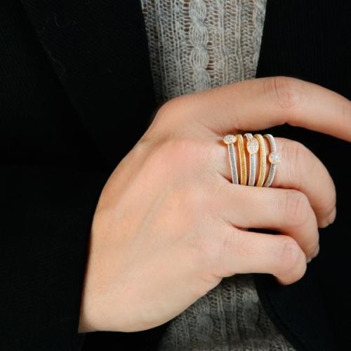 Pierścionek Luca Lorenzini Scintille Colors