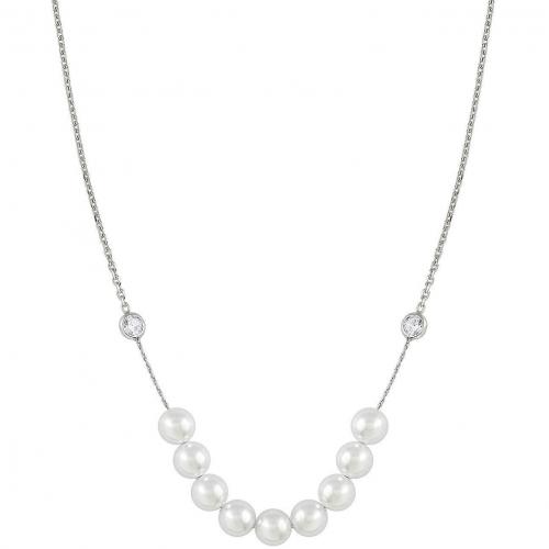 Naszyjnik NOMINATION białe perły