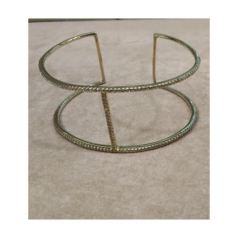 Srebrna bransoletka z cyrkoniami Claudio Canzian