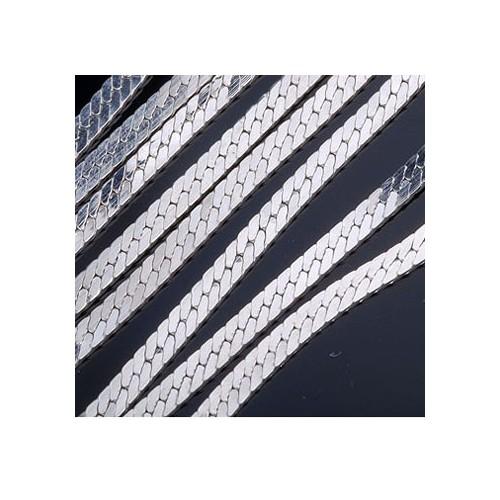 Łańcuszek srebrny TAŚMA