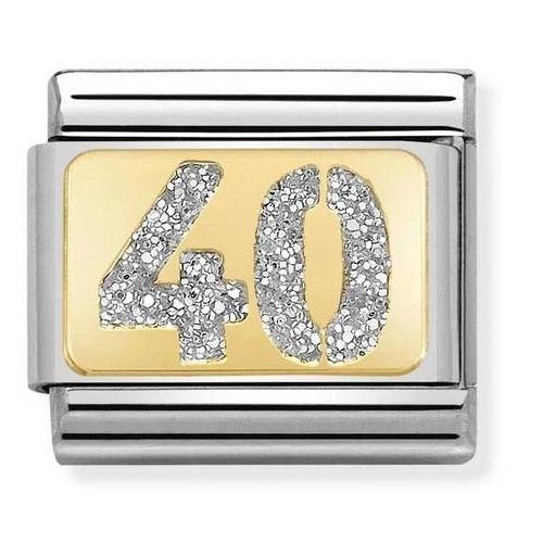Link NOMINATION liczba 40 z brokatem