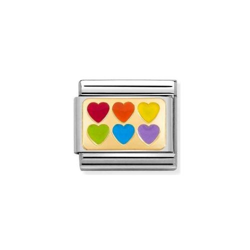 Link NOMINATION kolorowe serca