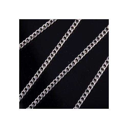 Łańcuszek srebrny PANCERKA 3