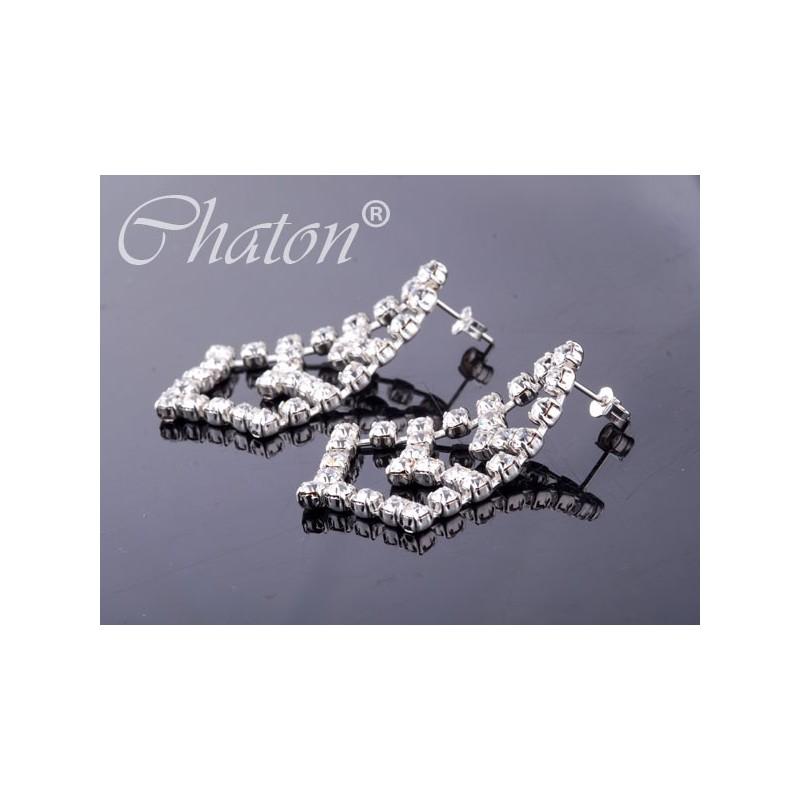 Kolczyki srebrne wiszące - eleganckie i długie